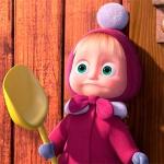 Маша с лопаткой
