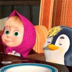Маша и пингвиненок