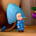 Маша-снегурочка