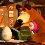Маша Мишка и яйцо