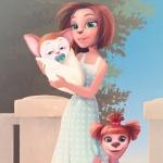 Мама, Лиза и Малыш