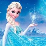 Эльза со снежинкой