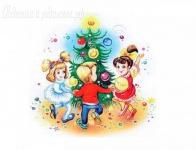 Новогодний сценарий для подготовительной группы детского сада