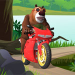 Медведь-байкер