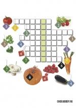 Кроссворд про овощи
