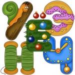 Буквы оформления детские
