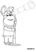 Гена и телескоп