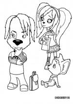 Дружок, Роза и Малыш