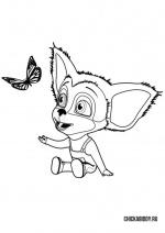 Малыш и бабочка