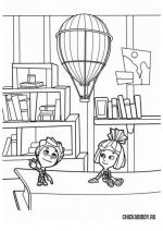 Симка, Нолик и воздушный шар
