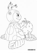 Мила с клубничкой