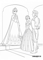 Анна, Эльза и Ханс