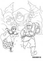 Кристоф, Анна и Снежок-переросток