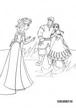 Эльза, Анна и Кристоф