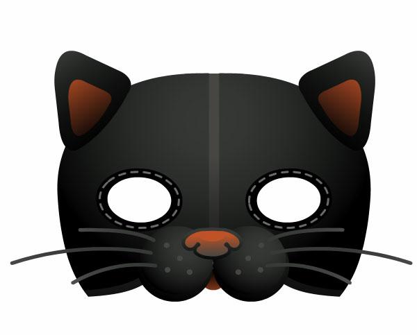 Своими руками маску кошки