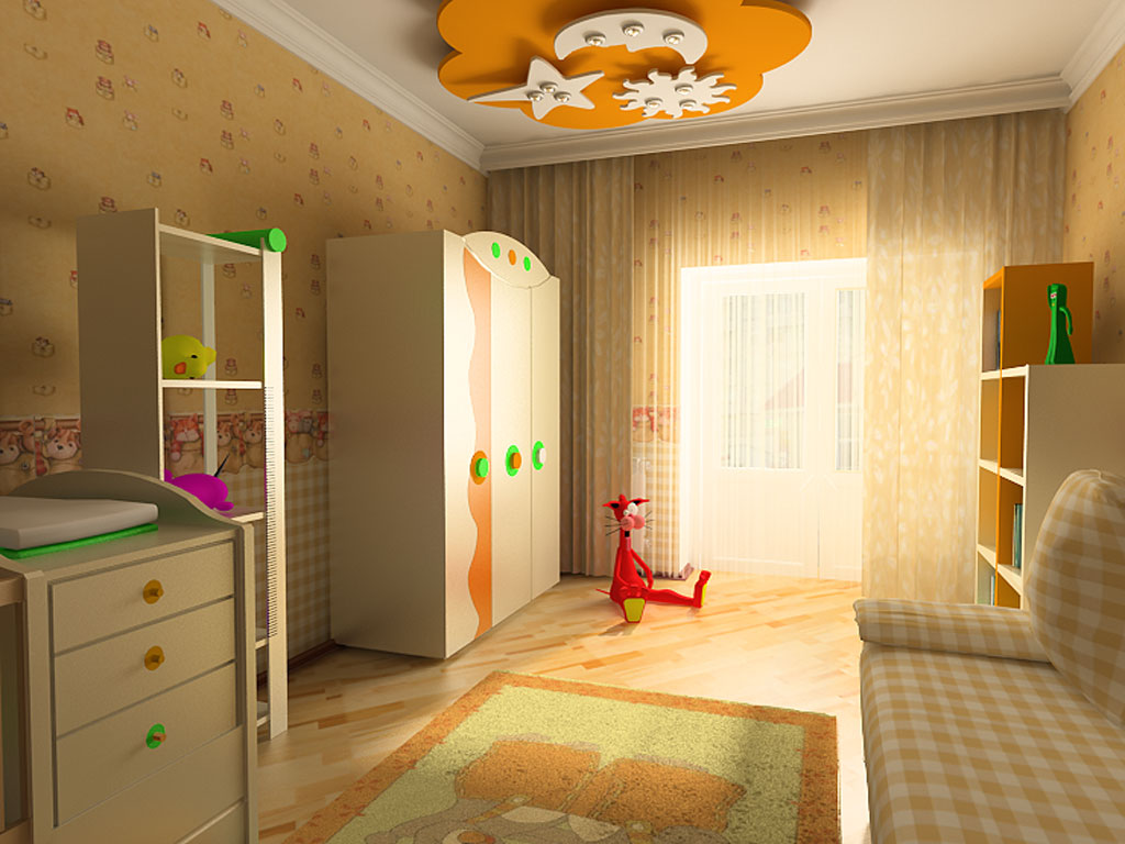Ремонт детской комнаты своими руками фото